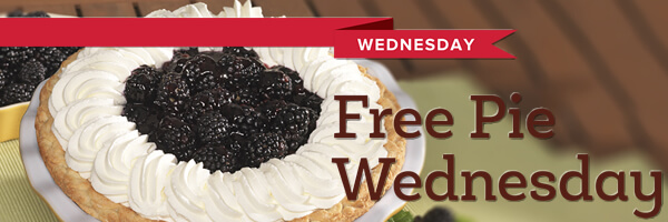Free Pie Wednesday