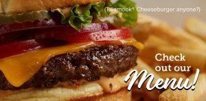 Tillamook Cheeseburger