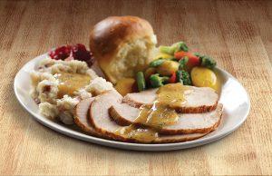 Slow Roasted Turkey Dinner