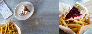 Pies on Fries: Celebrate National French Fry Day with Sharis Saturday 7/13/19