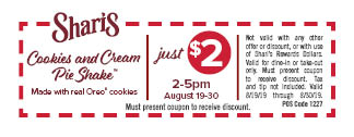 CC_SH Cookie Cream Pie Shake coupon