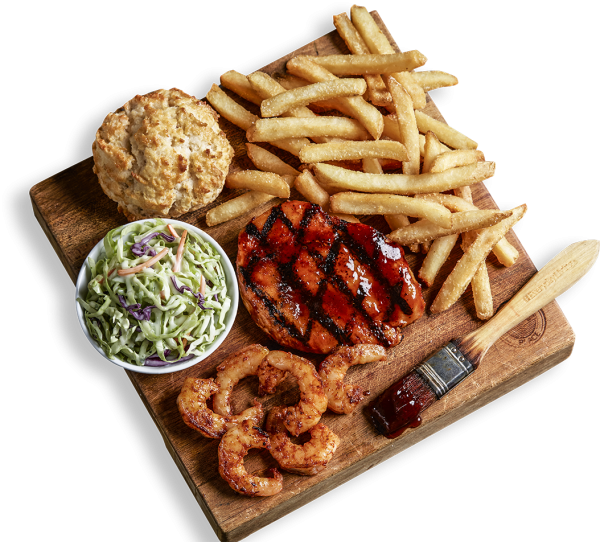 Grilled Shrimp BBQ Combo