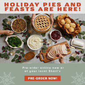 Holiday pies and feasts are here! Pre-order now!
