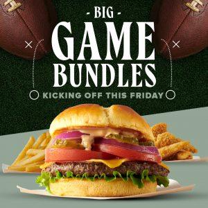 Big Game Bundles. Kicking off this Friday