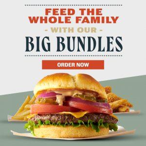 Big Game Bundles. All weekend long. Order now!