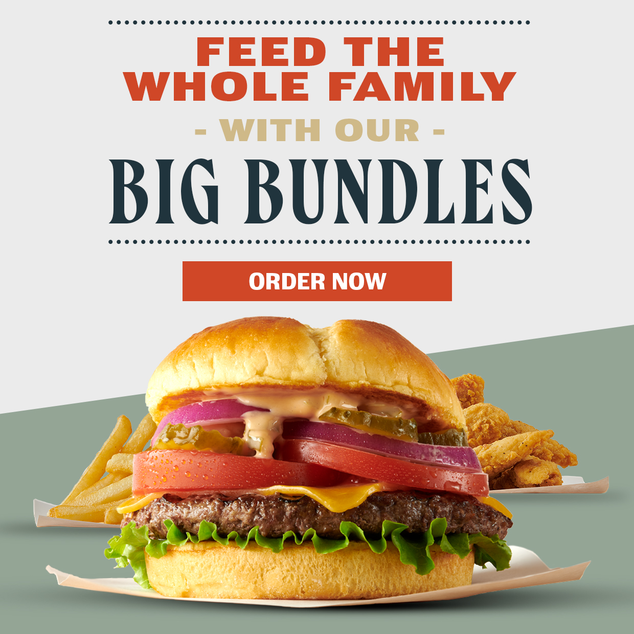 Big Game Bundles. All weekend long. Order now!